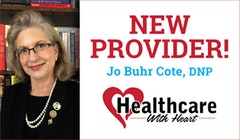 Welcome Jo Buhr Cote, DNP