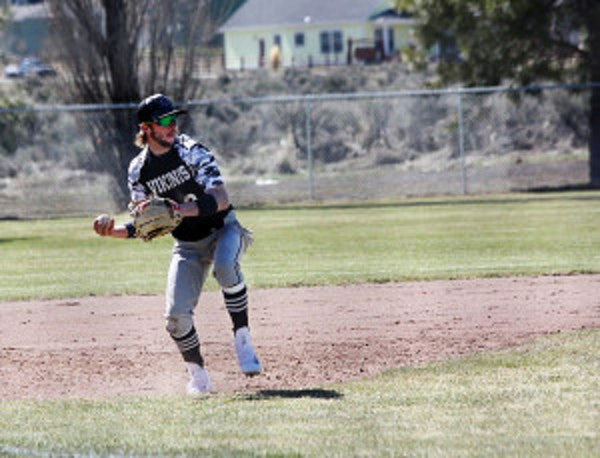 Gage Fortin takes action as Vale plays Glide at Burns last week. (Photos submitted by Pattie Hamilton)