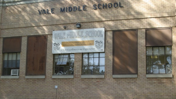The building housing Vale Middle School continues to have challenges.
