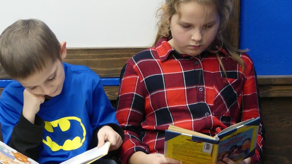 A book drive underway through the Vale Elementary School library seeks to brighten local kids' holidays.