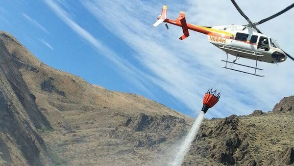 Gov. Kate Brown proposes continued funding to develop rangeland fire protection resources. (BLM photo)