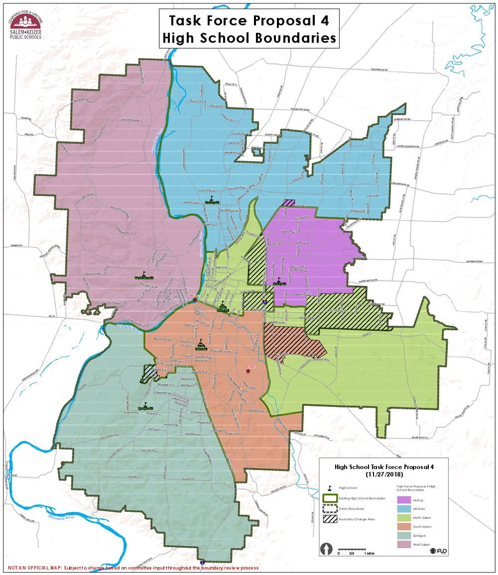 Salem-Keizer nearing final school boundaries for 2019-20 ...